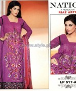 Nation by Riaz Arts Winter Designs 2013 For Women9