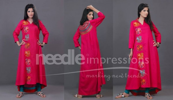 Needle Impressions Eid Collection 2013 For Women 1