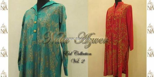 Nida Azwer Eid ul Azha Dresses 2013 for Women