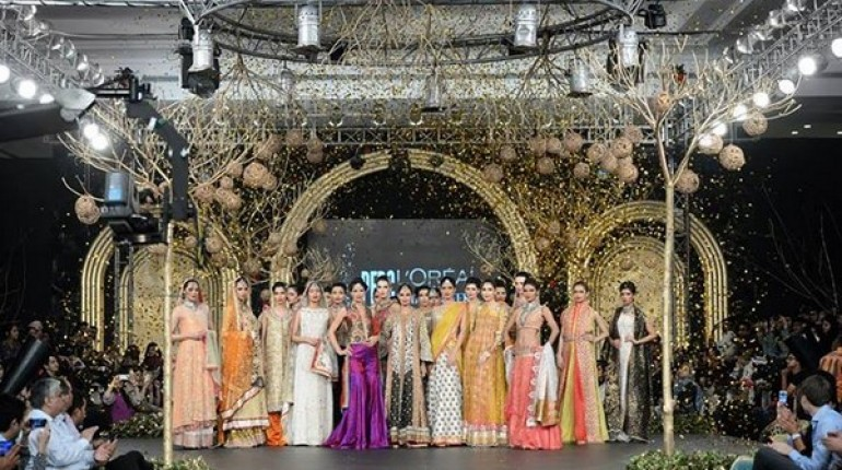 PFDC L'Oreal Paris Bridal Week 2013: Sania Maskatiya
