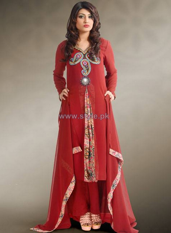 Popular Style Embroidered Dresses 2013 For Girls3