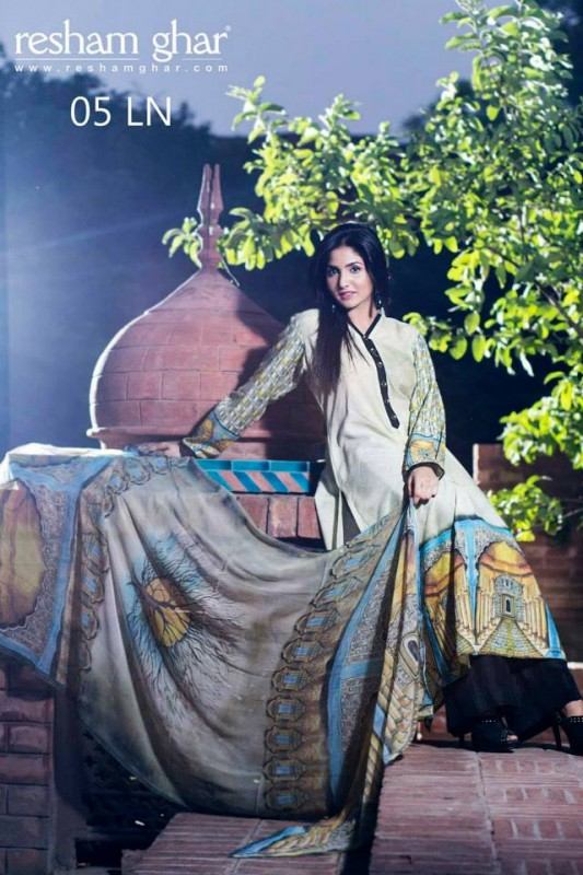 Resham Ghar Fall Winter Collection 2013 For Women-6