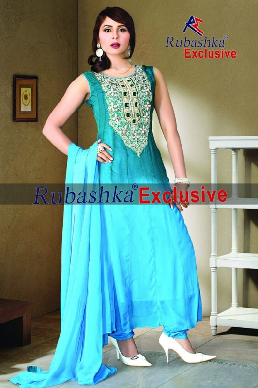 Rubashka Fashion Eid Dresses 2013 For women 11