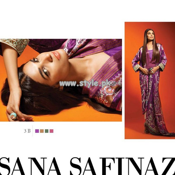 Sana Safinaz Pure Silk Collection 2013 For Fall 006