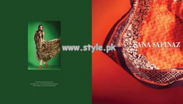 Sana Safinaz Pure Silk Collection 2013 For Girls 011