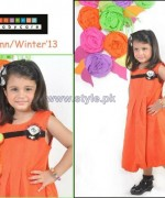 Shahnaz Autumn Winter Clothes 2013 For Kids11