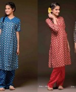 Sitara Textiles Winter Dresses 2013 For Women 003