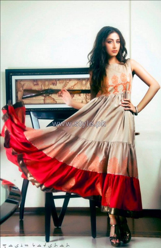 Stitched Stories Party Wear Dresses 2013 For Girls5