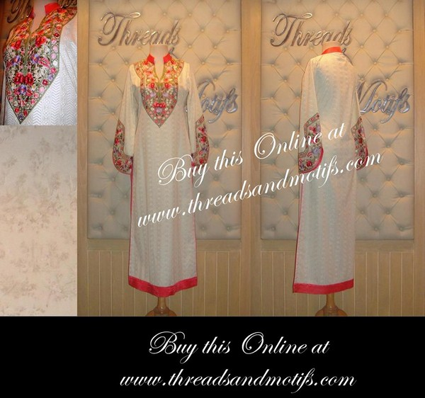 Threads And Motifs Eid-Ul-Azha Collection 2013 For Women 002