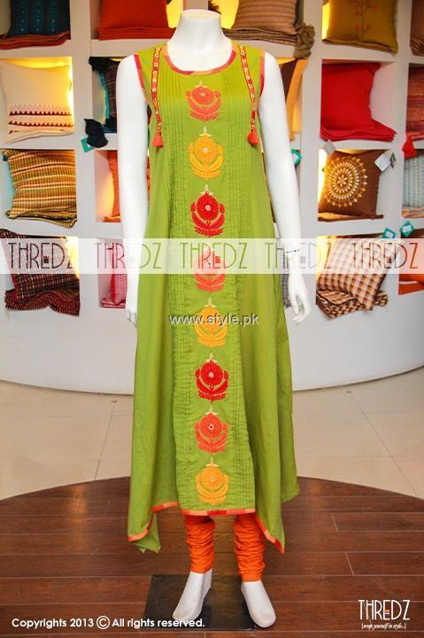 Thredz Eid-ul-Azha Collection 2013 for Women