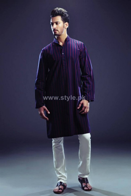 Yellow Menswear Collection 2013 For Eid-Ul-Azha2