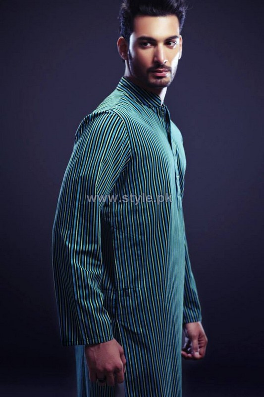 Yellow Menswear Collection 2013 For Eid-Ul-Azha3