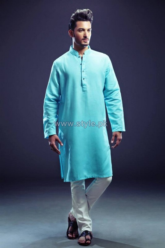 Yellow Menwear Collection 2013 For Eid5