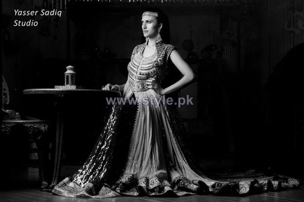 Zeeshan Bariwala Formal Dresses 2013 For Women4