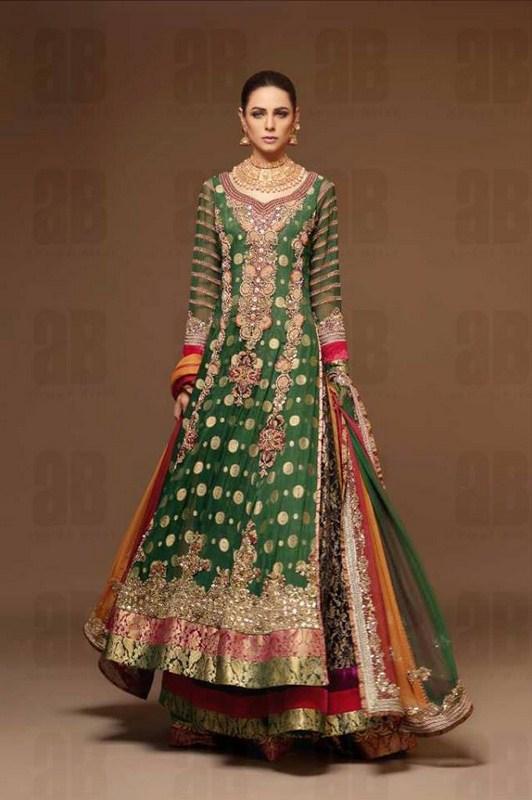 Ahmad Bilal Bridal Dresses 2013-2014 For Women 004