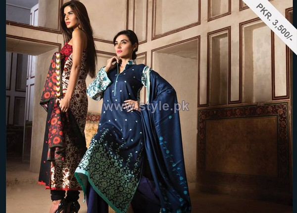 Al-Karam Textiles Winter Hues 2013-2014 Volume 3 For Women 11