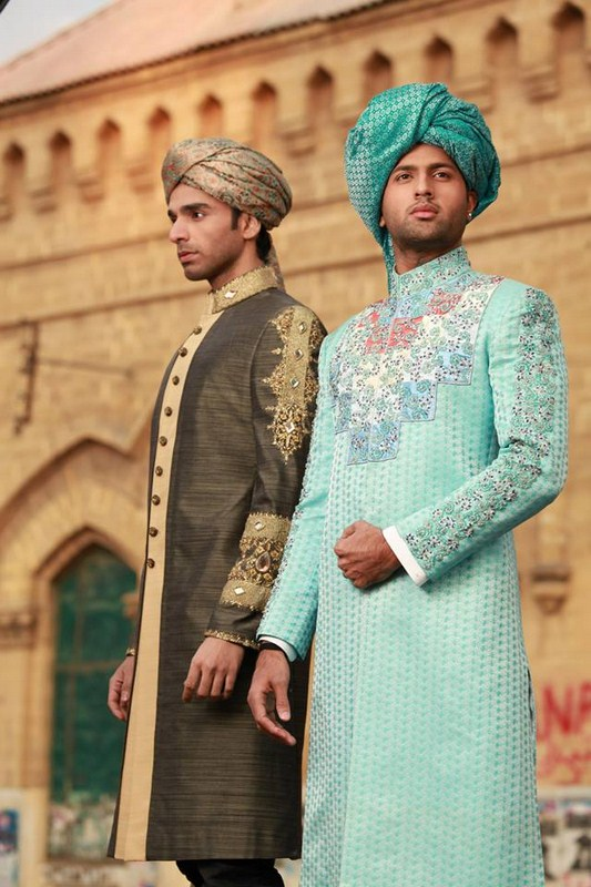 Arsalan Iqbal Sherwani Designs 2013 For Men 004