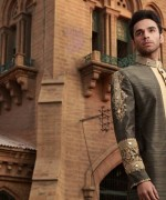 Arsalan Iqbal Sherwani Designs 2013 For Men 005