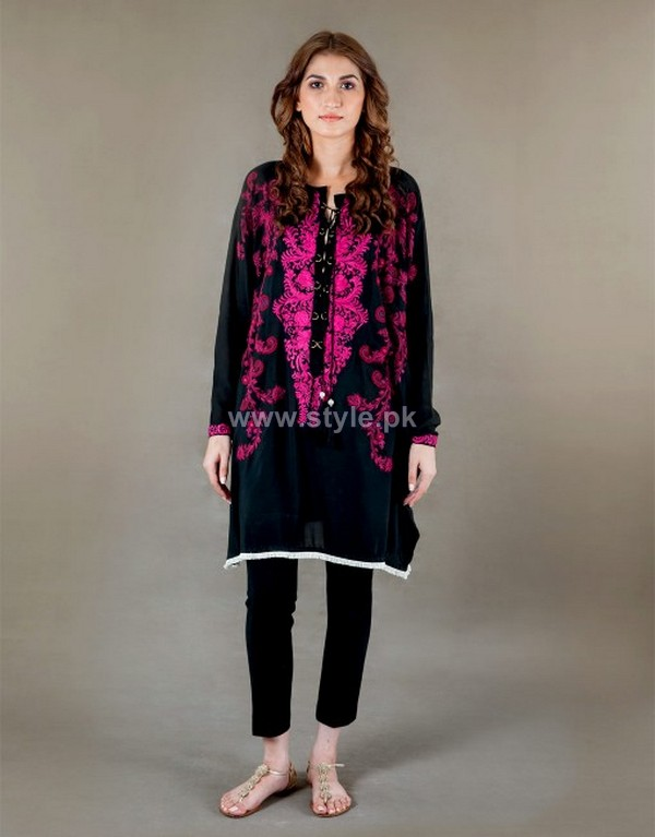 Ayesha F Hashwani Winter Dresses 2013 For Girls 5