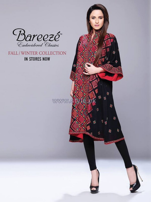 Bareeze Fall Winter Dresses 2013-2014 For Women 6