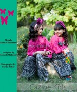 Cazibe Pret Winter Dresses 2013 For Kids 7