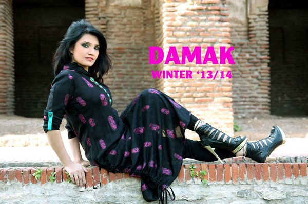 Damak Winter Dresses 2013-2014 For Women 002