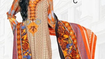 Dawood Textiles Khaddar Dresses 2013 For Women 010