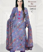 Dawood Textiles Winter Dresses 2013 For Women 002
