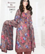 Dawood Textiles Winter Dresses 2013 For Women 008