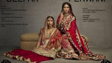 Deepak Perwani Bridal Dresses 2013-2014 for Women