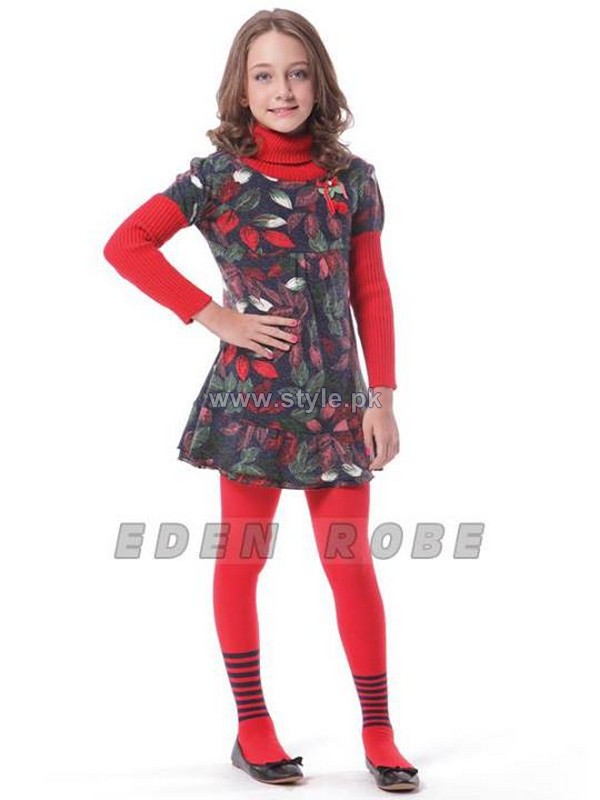 Eden Robe Kids Dresses 2013-2014 For Winter 1