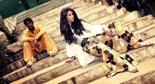 Feeha Jamshed Casual Wear Dresses 2013 For Women 3