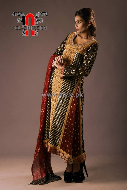 Folks N Fusion Winter Dresses 2013-2014 For Women 8