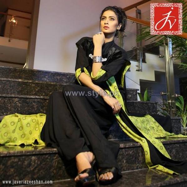 Javeria Zeeshan Winter Dresses 2013-2014 For Women 7