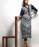 Khaadi Black and White Dresses 2013-2014 for Women