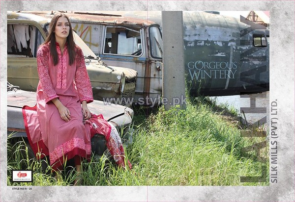 LSM Fabrics Gorgeous Wintery Collection 2013-2014 For Women 6