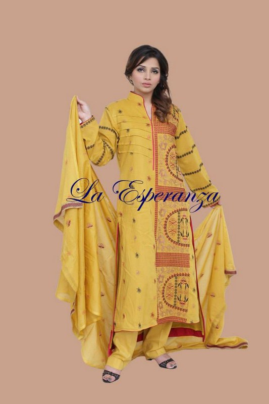 La Esperanza Winter Dresses 2013-2014 For Women 001