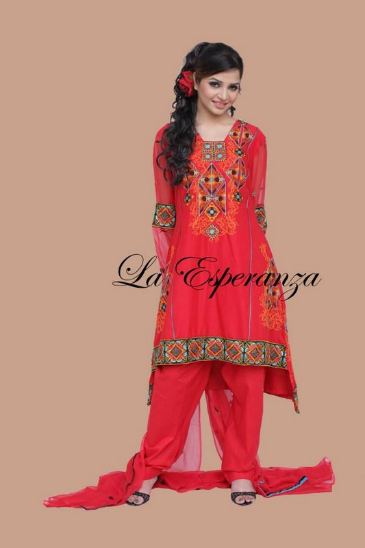 La Esperanza Winter Dresses 2013-2014 For Women 0010