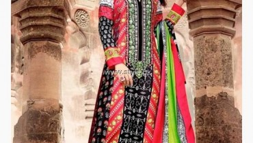 Maria B Pashmina Indian Dresses 2013-2014 for Women