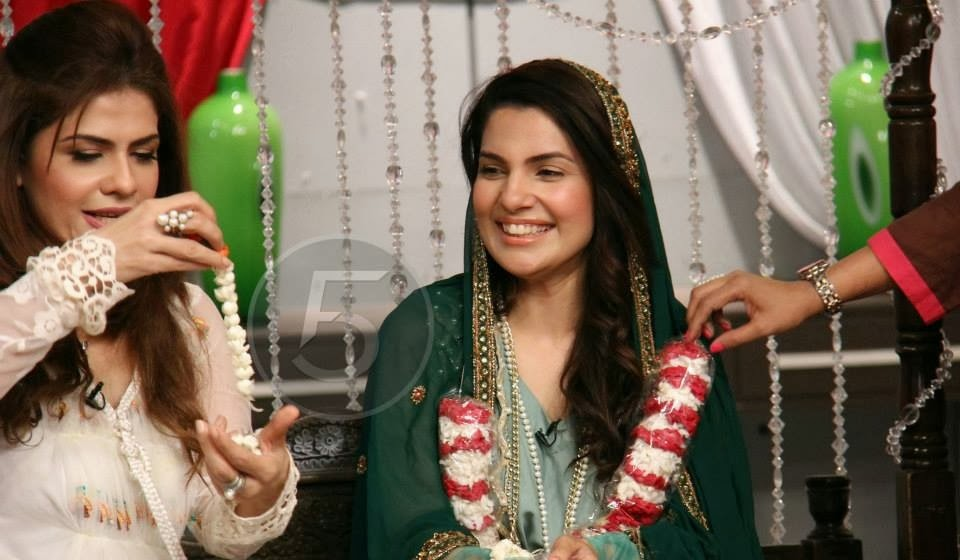 Masala Tv Host Kiran Khan Wedding Pictures