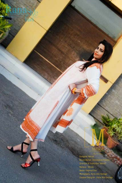Mona'z Winter Dresses 2013-2014 For Women 002