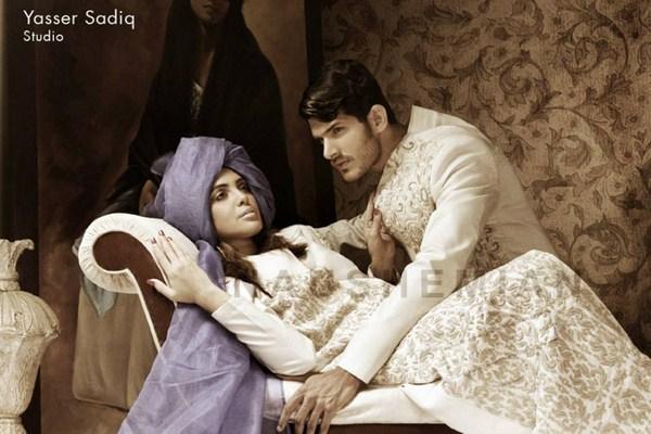 Nauman Arfeen Wedding Dresses 2013 For Men And Women 001