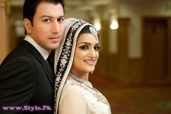 Nazia Malik Wedding Picture