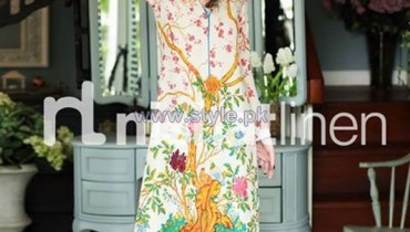 Nishat Linen Pret Wear Dresses 2013-2014 Volume 2 10