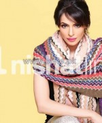 Nishat Linen Shawl Collection 2013-2014 For Winter 1