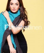 Nishat Linen Shawl Collection 2013-2014 For Winter 2