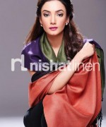 Nishat Linen Shawl Collection 2013-2014 For Winter 4