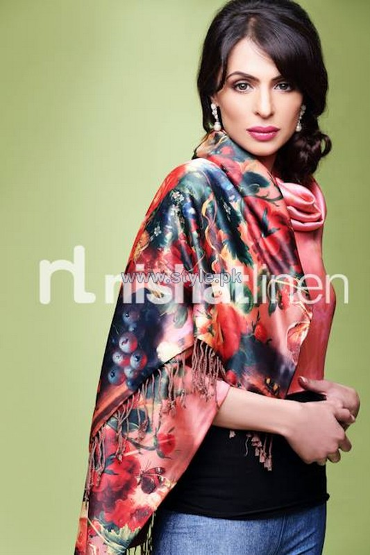 Nishat Linen Shawl Collection 2013-2014 For Women 12