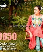 Nukshi Casual Wear Dresses 2013-2014 For Winter 2