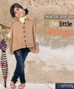 Offspring Kids Wear Dresses 2013 For Winter 5